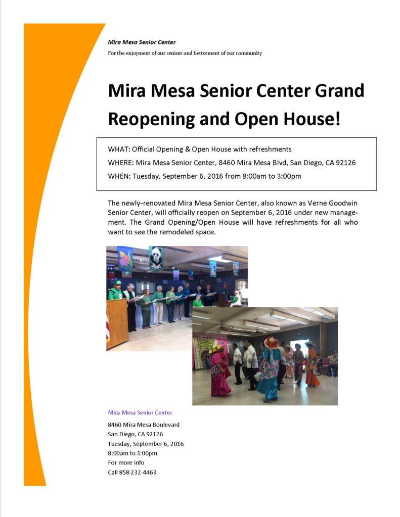 MMSC Grand Opening Flyer